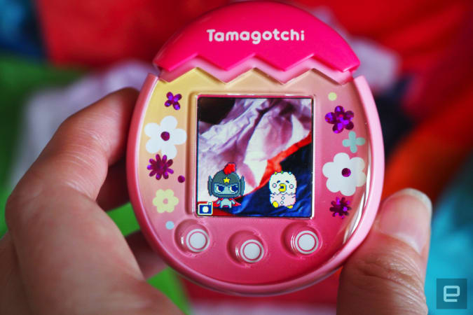 My Tamagotchi Pix was drowned in stool, it is not my fault