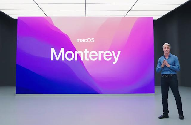 Monterey is the next version of Apple macOS
