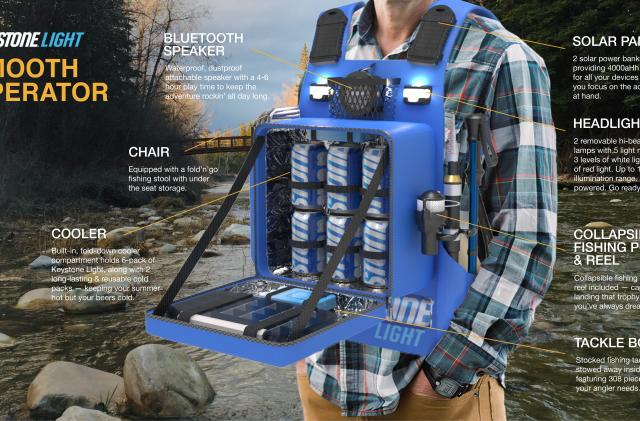 Keystone Light becomes a must-have wearable device in summer