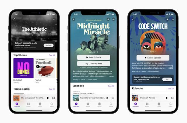 According to reports, Apple will open paid podcast subscriptions on June 15