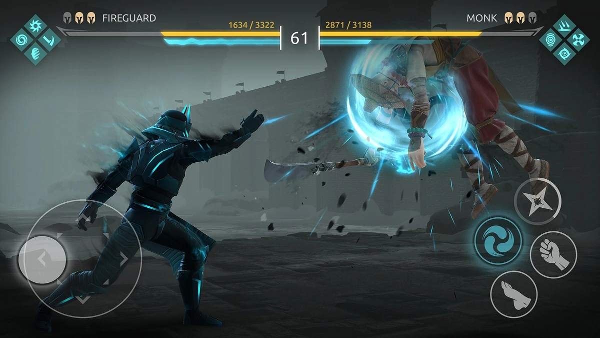 Shadow Fight 4: Arena quick review(Android/iOS): Old school fights without gore