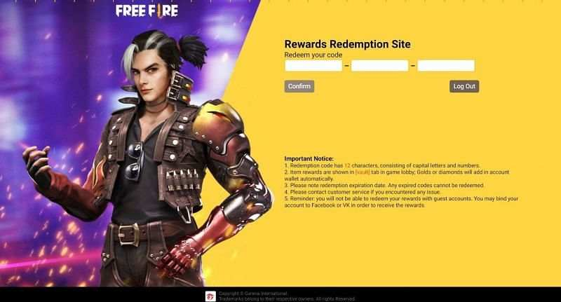 Free Fire redeem codes released in July 2021: Rewards and codes listed
