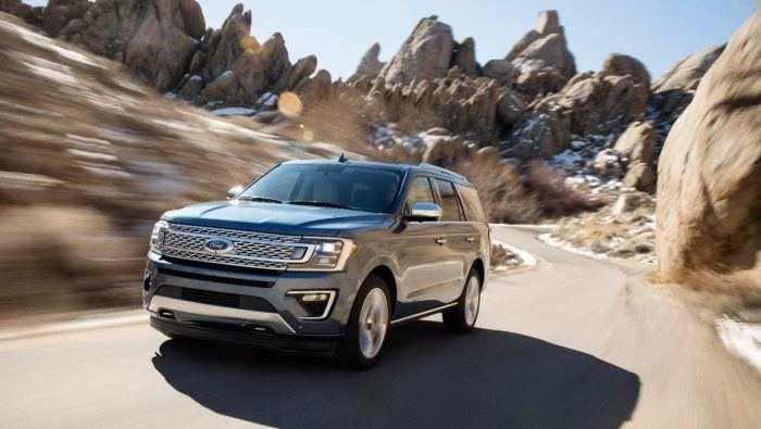 Essai du Ford Expedition Platinum 4×4 2018
