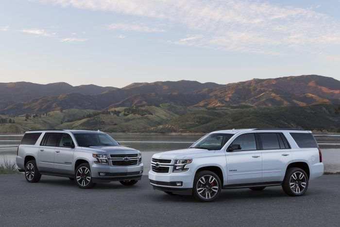 Édition spéciale Chevy Tahoe et Suburban Premier Plus 2019 : grand et superviseur