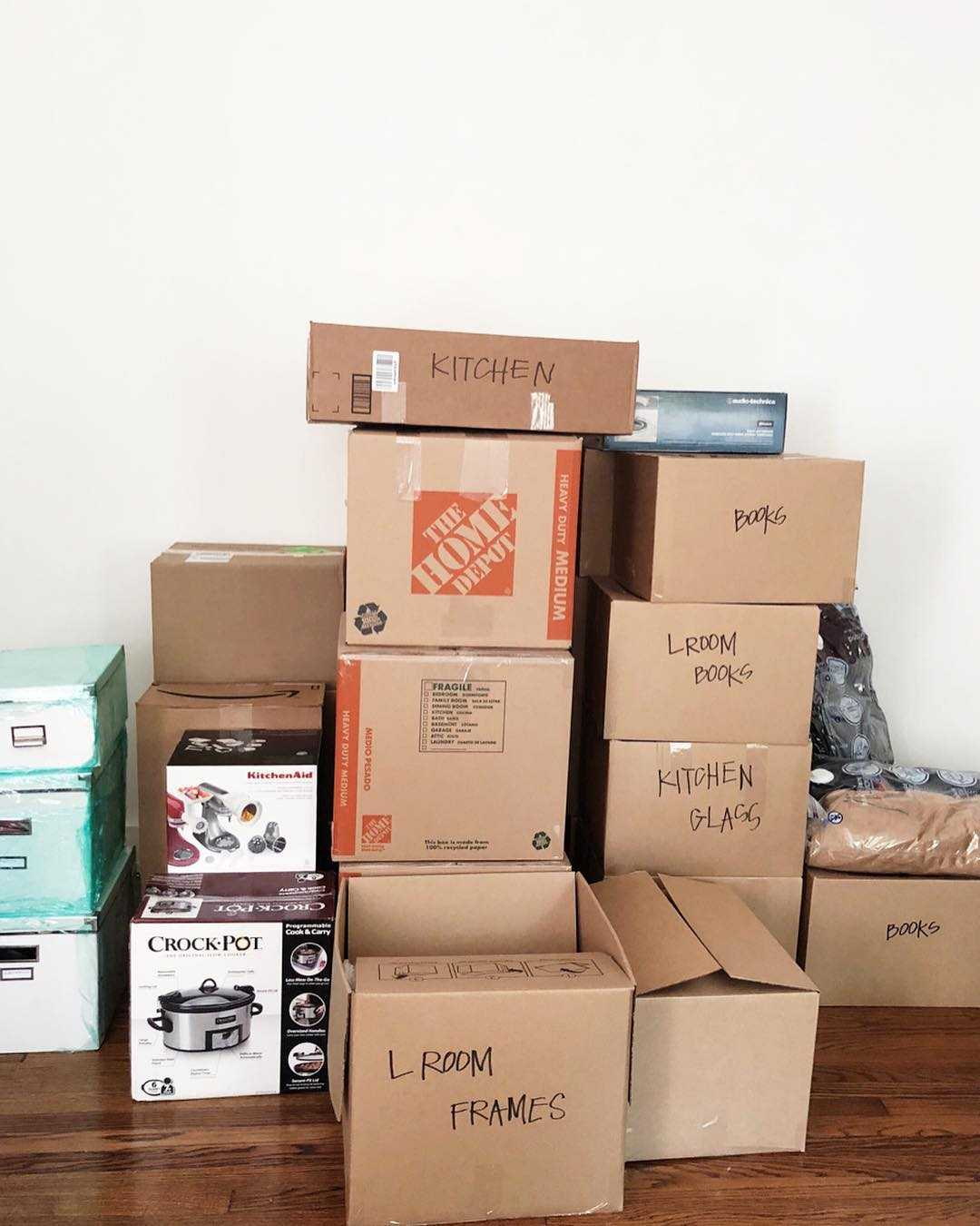 Packing Tips for Moving