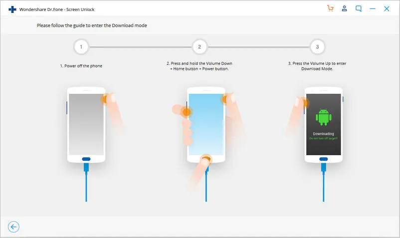 Déverrouiller le téléphone Android sans compte Google