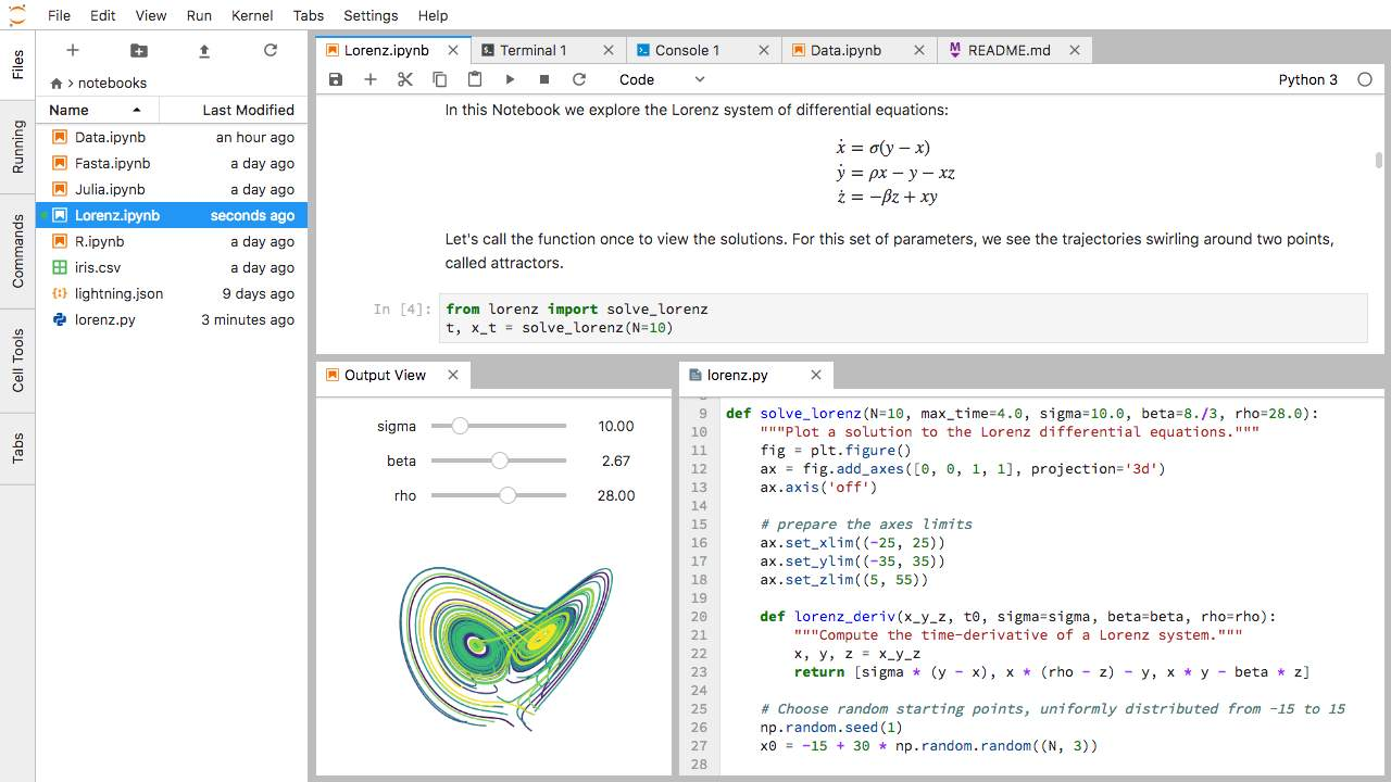 Why you should use Jupyter Notebooks