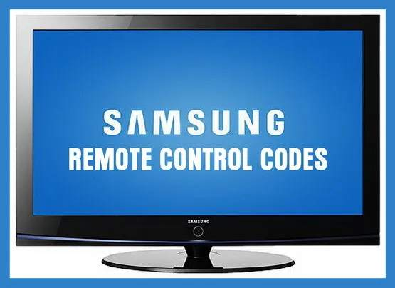 Find Remote Control Codes For Samsung TV's