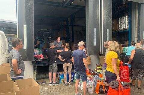 Nach Flutkatastrophe: Enorme Spendenbereitschaft in der Region