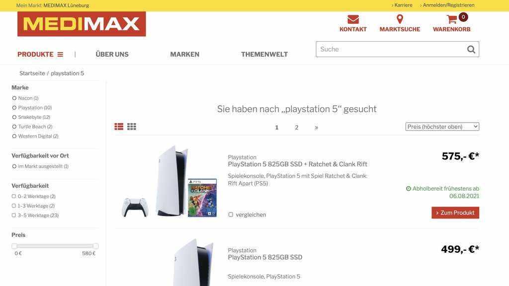 PS5 kaufen: Neue Konsolen am 11. August – Frische Nachschub-Welle bei Amazon