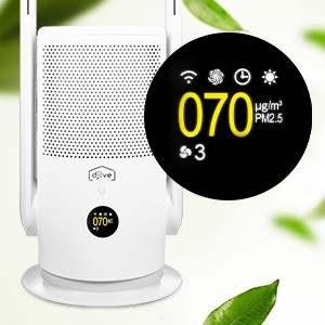 djive Flowmate ARC Casual 2-in-1-Luftreiniger – saubere Luft, einfach smart und stylish