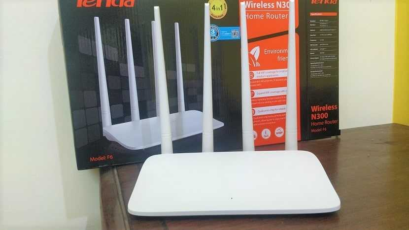 Tenda F6 V4.0 N300 wi-fi router review