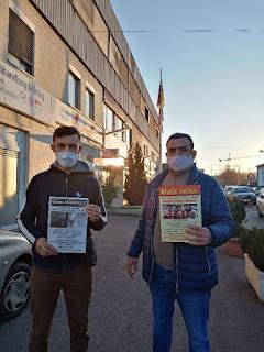Hasan Ferit Gedik Workers Distributed Magazines