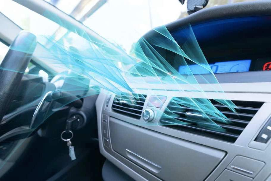 How to maintain the air conditioning in a car?