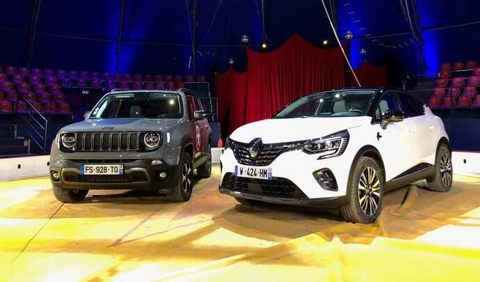Les 2 SUV urbains hybrides rechargeables du salon Caradisiac Electrique/hybride 2021: quel modèle choisir ?