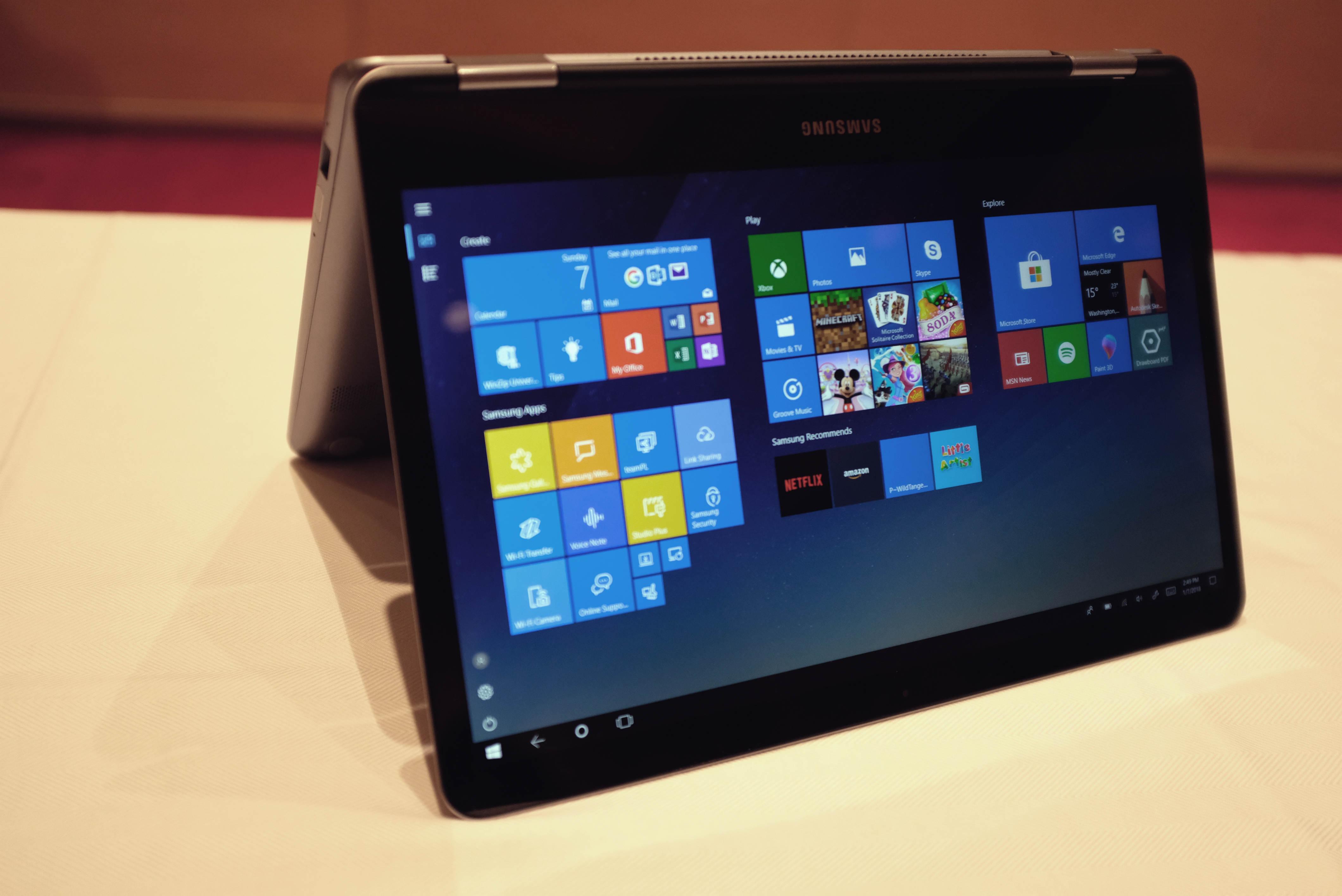 Hands on mit Samsungs aufgefrischtem Notebook 9 und Notebook 7 Spin