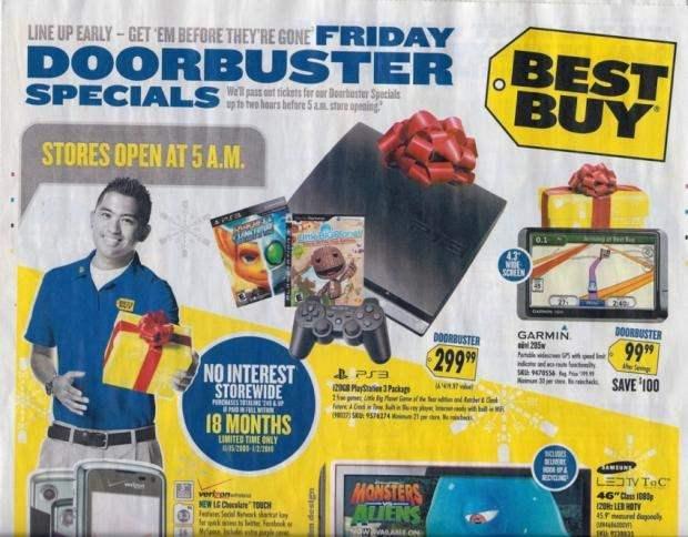 Best Buy Black Friday Anzeige