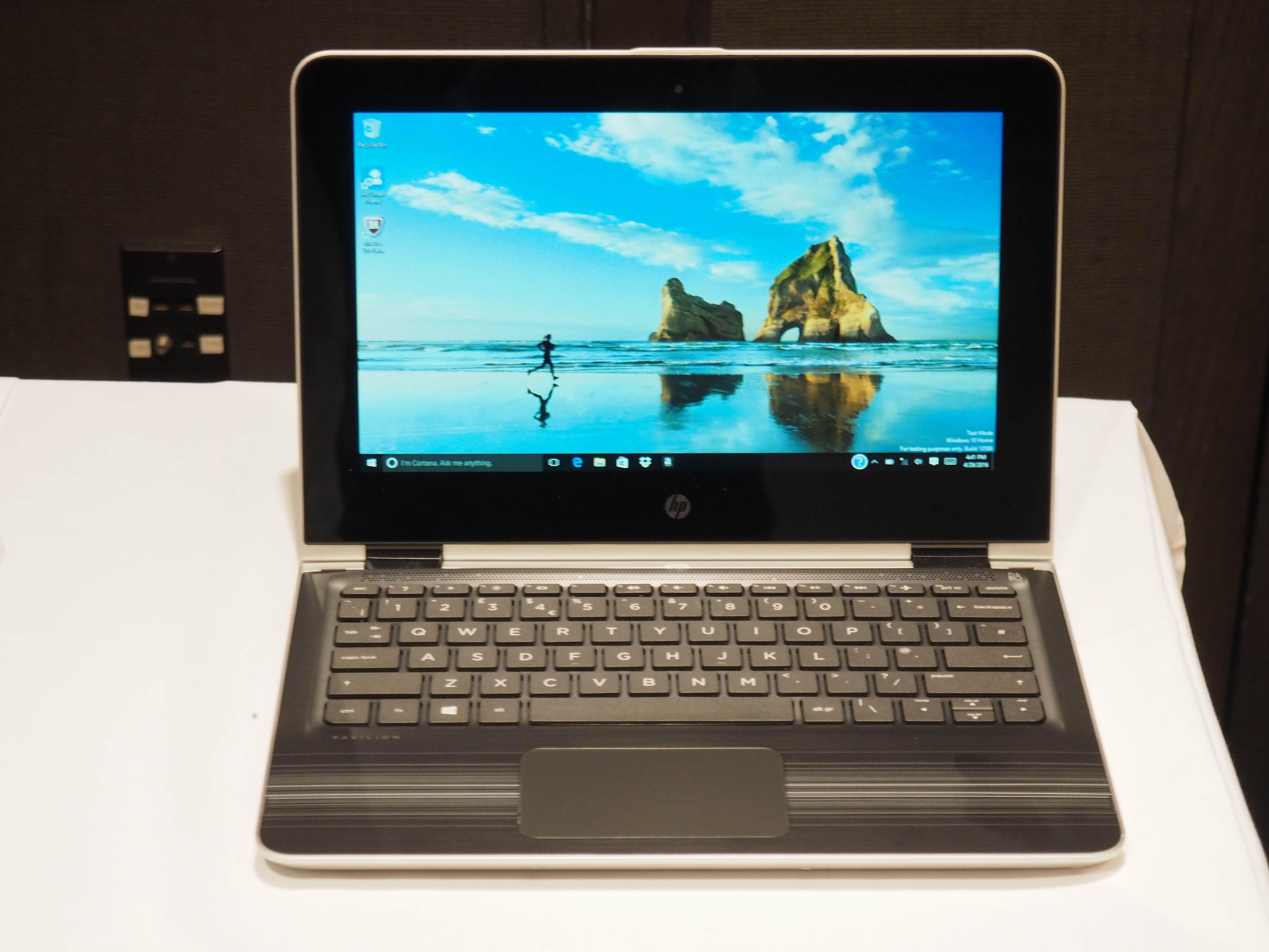 Ja, es ist Anfang Mai, aber hier sind einige neue HP Pavilion-PCs für den Schulanfang