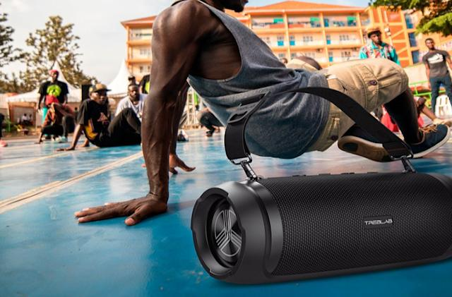 You can save 14% when you buy this Bluetooth speaker from TREBLAB