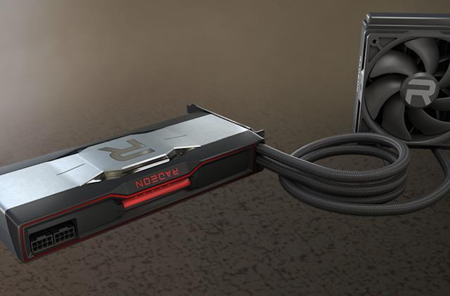 AMD has introduced a liquid-cooled version of the Radeon RX 6900 XT GPU