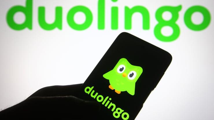 Duolingo closes up 36% in Nasdaq debut, valuing company at nearly  billion